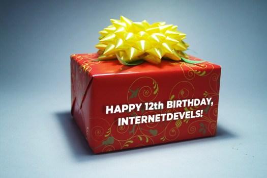 Happy 12th birthday, InternetDevels: great year wrap-up
