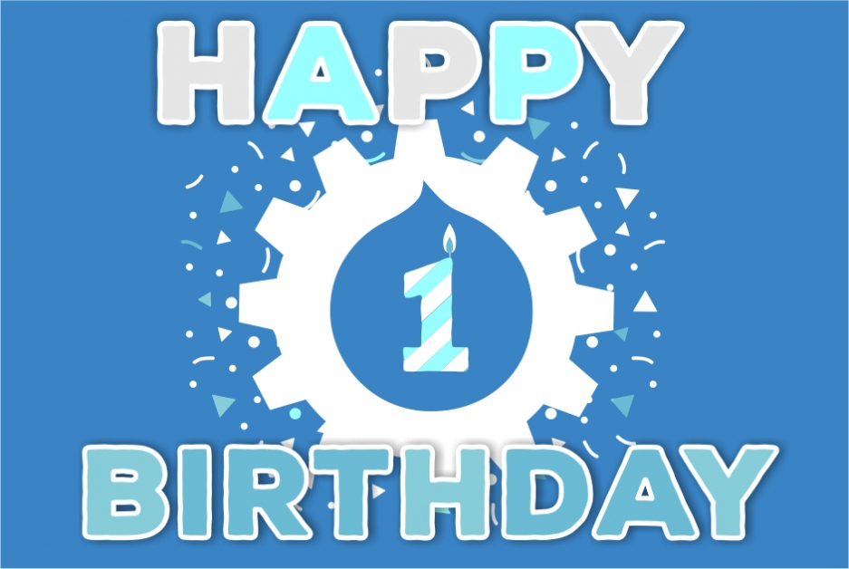 Happy birthday Drudesk 1 year of stunning success  Internetdevels official blog