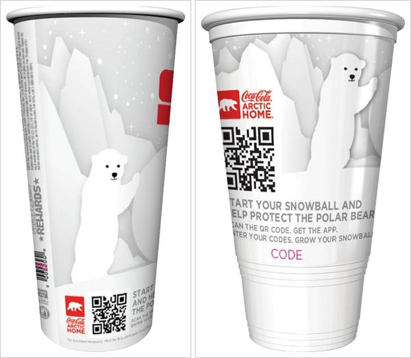 Coca-Cola, un ejemplo de marketing móvil con códigos QR