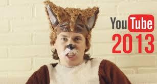 Lo más visto en YouTube en  el 2013