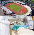 Hisztériakeltés - avagy: Lélegeztetőgép helyett stadion hisztéria