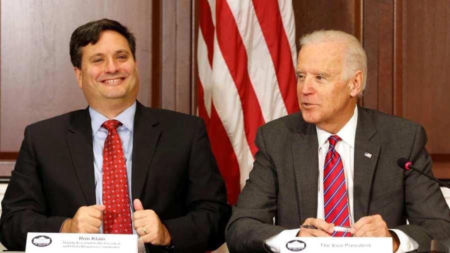 Ronald Klain és Joe Biden