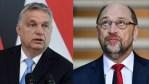 Orbán: Schultz éveken át támadta Magyarországot, mert megvédi határait és nem fogad be bevándorlókat
