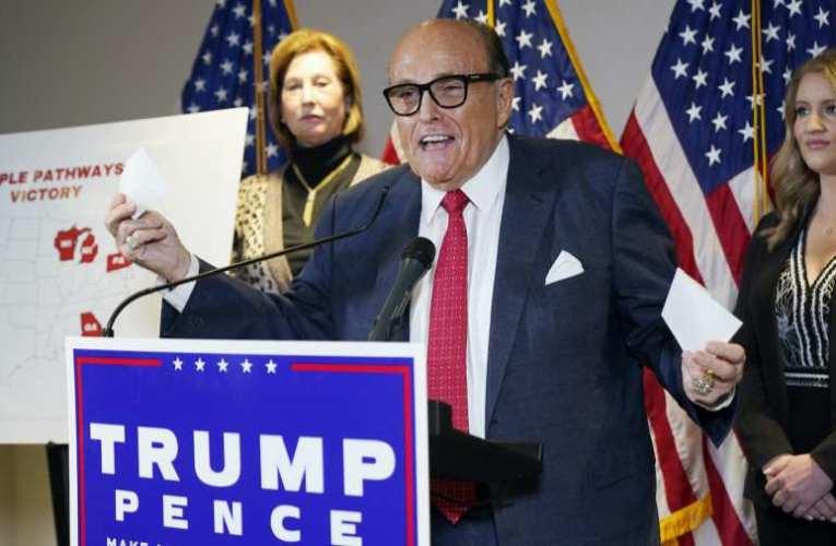 Trump ügyvédje központilag tervezett választási csalással vádolja a demokratákat (videó 📺)
