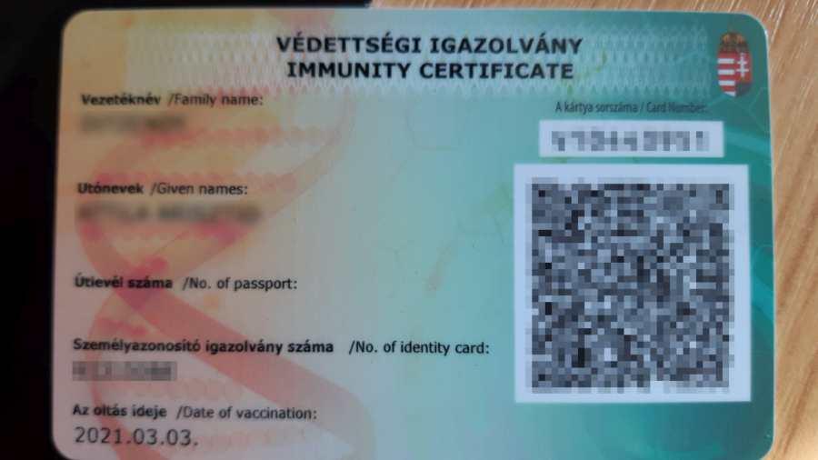 Készül a megállapodás a magyar és román oltási igazolványok kölcsönös elismeréséről