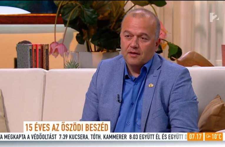 Gaudi-Nagy Tamás a TV2 Mokkában: 2006 őszén embertelen megtorlások tanúi lehettünk, ma is tagadnak a felelősök