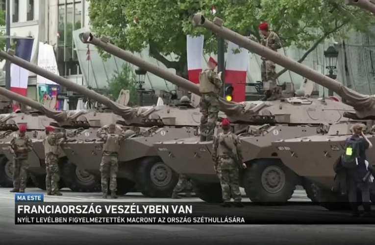 Tábornokok, akik ki merték mondani: Franciaország veszélyben van 📺