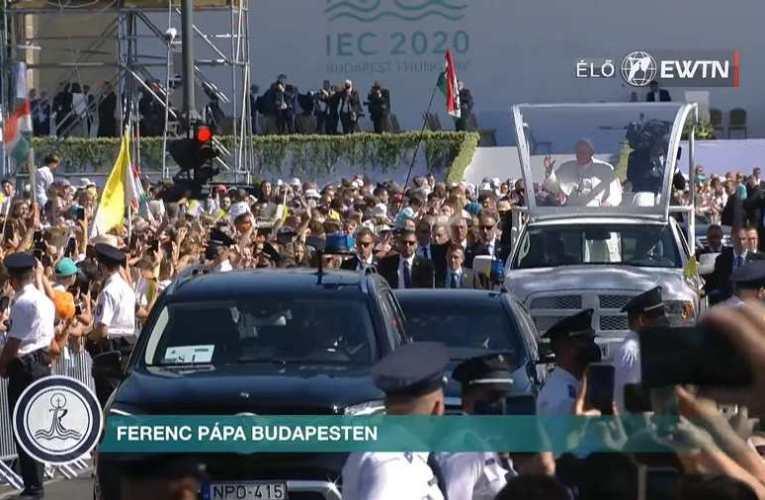 STATIO ORBIS ÜNNEPI SZENTMISE FERENC PÁPÁVAL – 52. Nemzetközi Eucharisztikus Kongresszus 📺