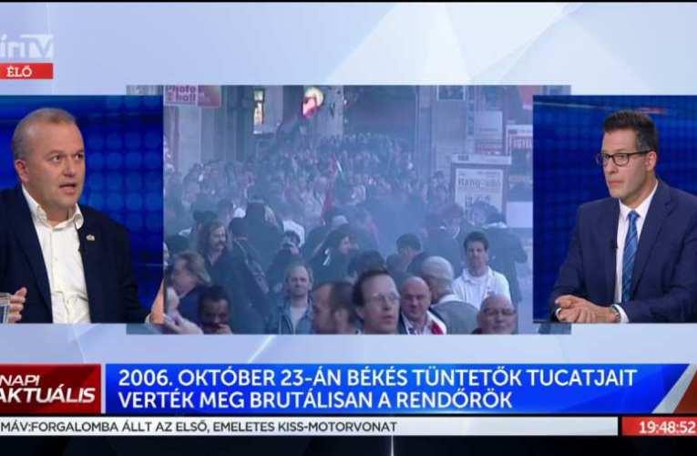 Szombaton lesz 15 éve, hogy Gyurcsány csapaterős terrort alkalmazva rontott a nemzetre