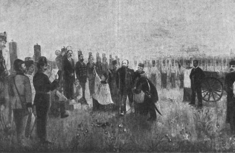 Emlékezés a hősökre: 1849. október 6. – Az aradi vértanúk és Batthyány Lajos kivégzése