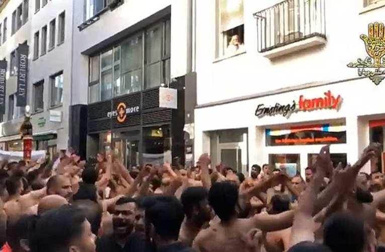 Ezt meg kell nézni! – Németország jövője: Egy hölgy sírva nézi, ahogyan a muszlim idegenek az ablaka alatt ünnepelnek