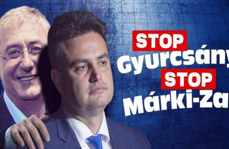 """Folytatódik az aláírásgyűjtés, """"Stop Gyurcsány, Stop Márki-Zay!"""" címmel"""