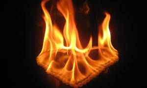 Feuer im Herzen - Brennendes Herz