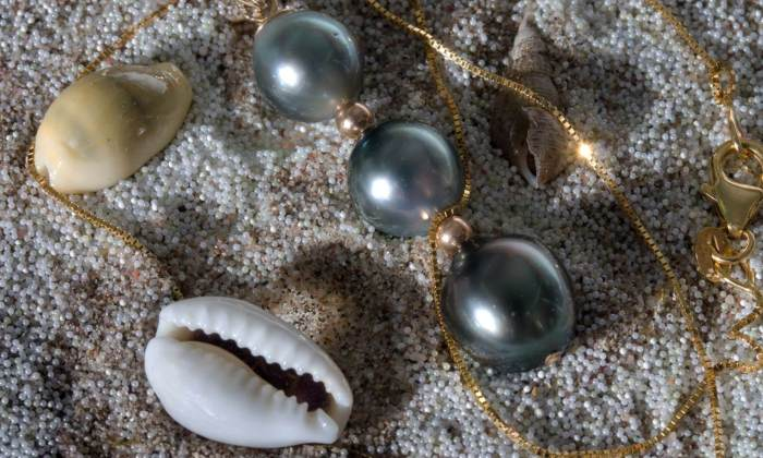 Perlen im Sand