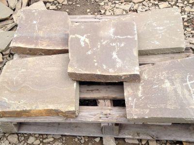 песчаник плиты серый