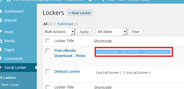 How to Install Social Locker Plugin for WordPress
