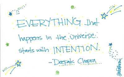 Intention is Everything!! ... Nothing Happens Without It!!