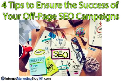 确保您的页外SEO广告活动成功的4条提示
