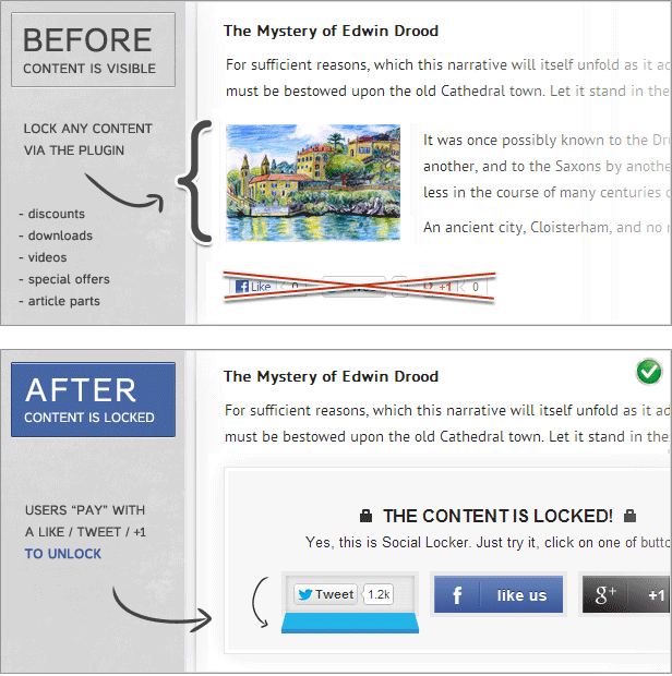 Social Locker Plugin Review