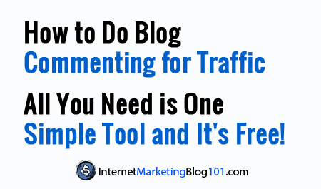 How to Do Blog Commenting for Traffic - All You Need is One