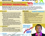Pelatihan Workshop Internet Marketing Bisnis Online 2015