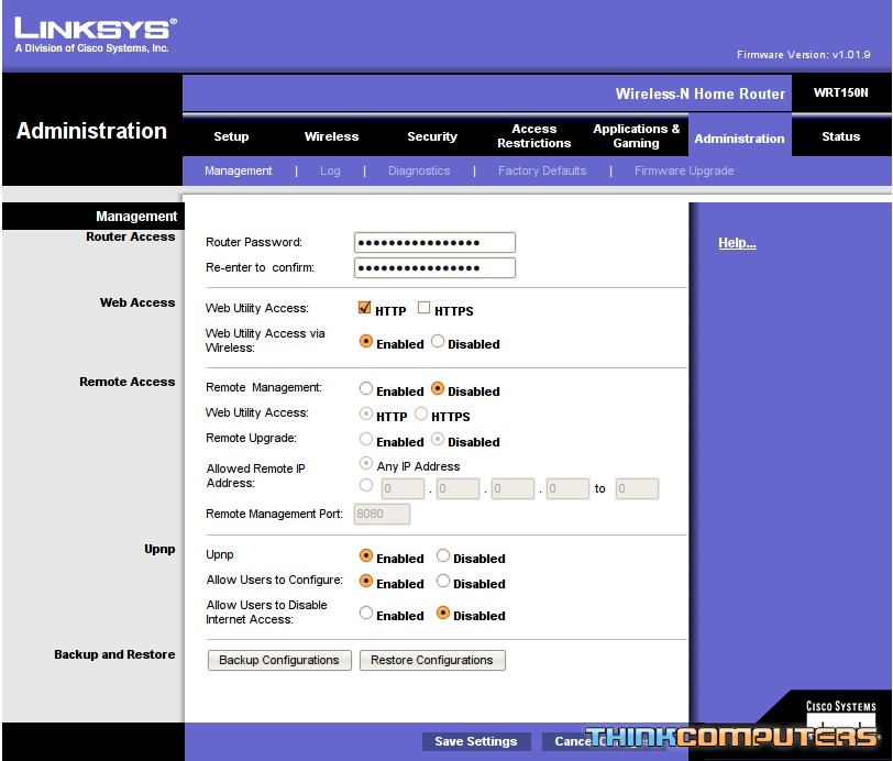 screenshot9 - Access My Linksys Router Remotely
