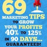 51qR0WetsUL - Marketing: Small Business Marketing - 69 Marketing Tips to Boost Your Profits 40% to 125% in 90 Days! (Marketing, Small Business Marketing, Starting a ... Tips, B2B Marketing, Direct Marketing)