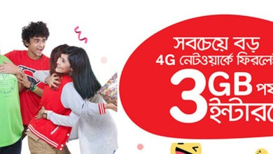 Airtel Bondho SIM Offer | 3GB Internet at 19Tk (Daily)