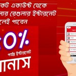 Robi bKash/Roket Recharge 50% Bonus Internet offer – Robi offer 2018