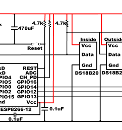 esp8266 weather sensor schematic [ 5545 x 2361 Pixel ]