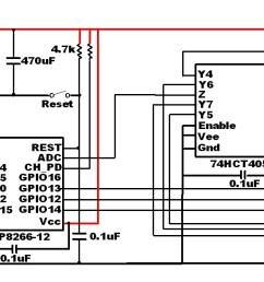 esp8266 schematic amux test circuit updated [ 1438 x 588 Pixel ]
