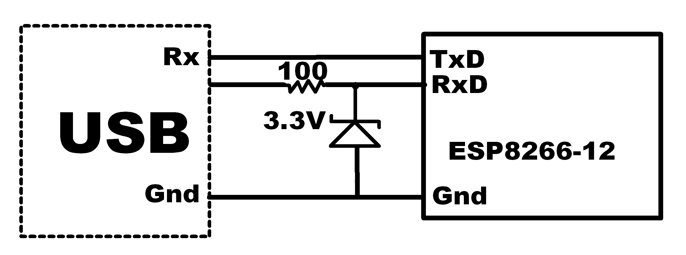 Esp 12f Unable To Power On Esp