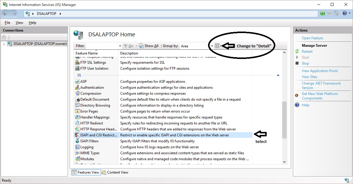 Internet of Home Things  How to test ASPNET files locally