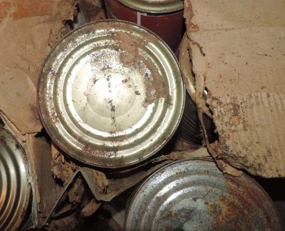 corrosion of canned food