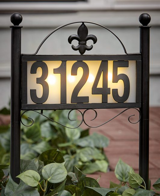 home number