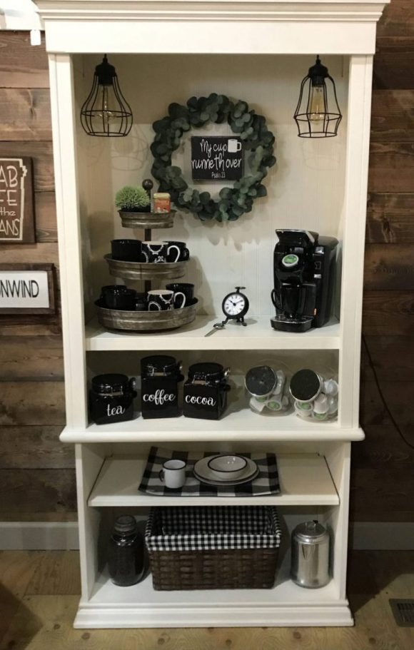 Charming-Cupboard-for-Coffee-Station