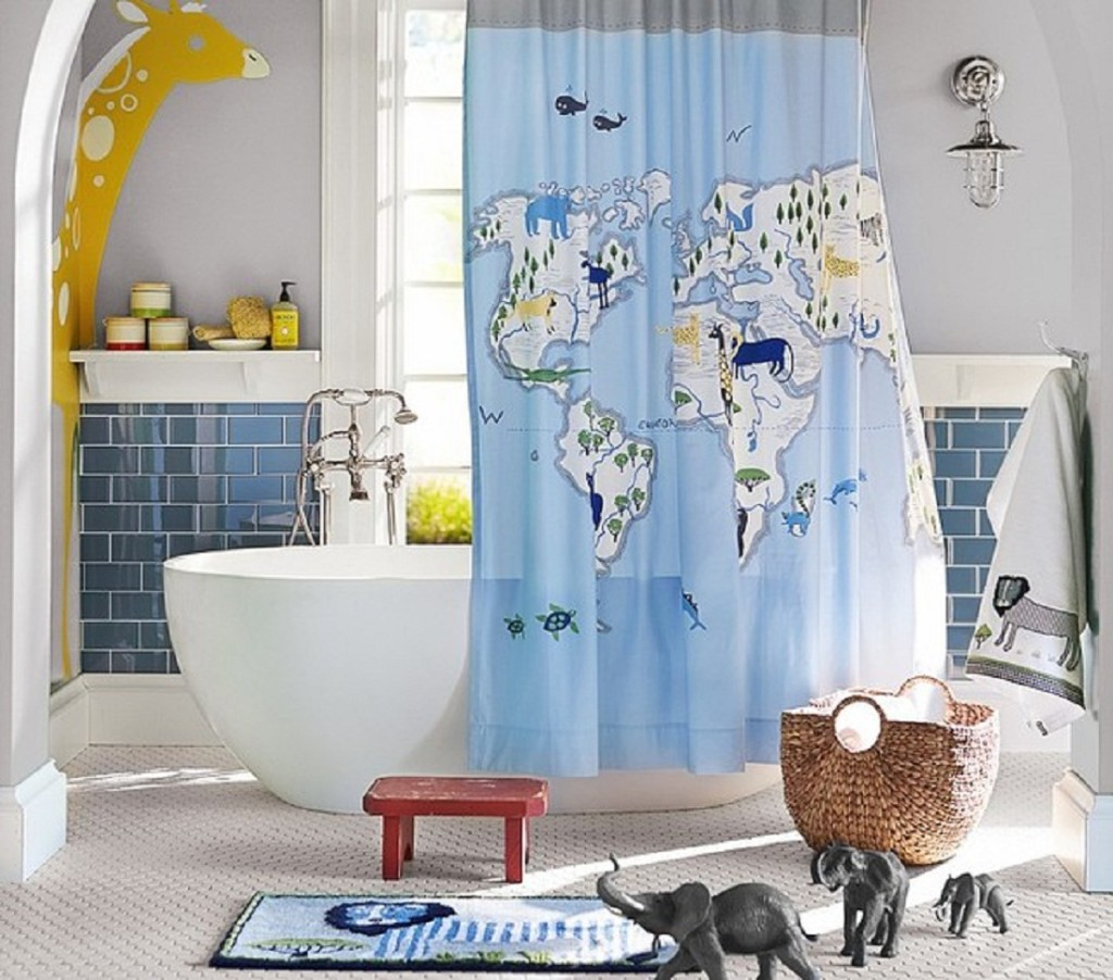 Cool Shower Curtain With World Map Pattern World Map Shower within measurements 1024 X 902 - Shower Curtains Ideas