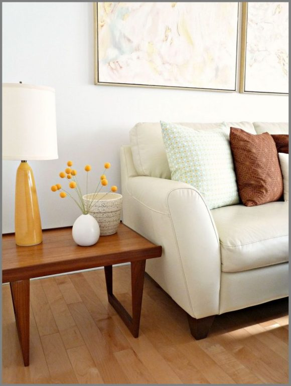 Orange-Vibes-as-Side-Table-Decor