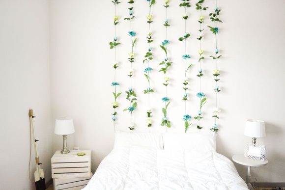 Paper-Leaves-wall-hanging