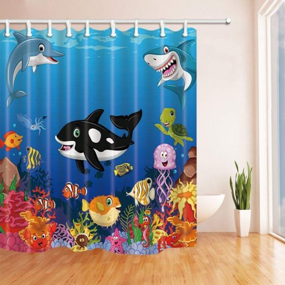 Sea-Life-Shower-Curtain-For-Kids