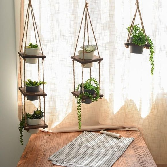 Hanging Trio Tiered
