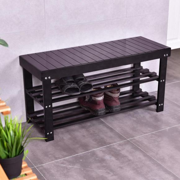 Outdoor Shoe Storage Bench