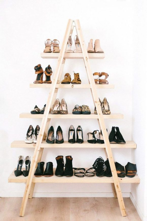 Shoe Pyramid Storage