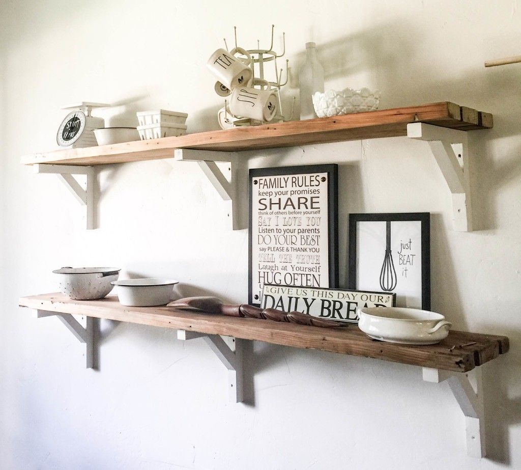 Outstanding Farmhouse Shelves You Can Use at Home