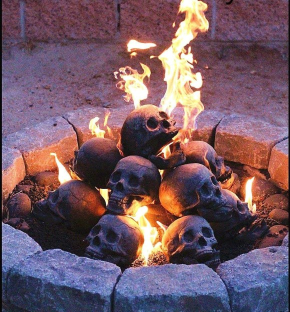 Steel Gas Logs Set for Your Fire Pit