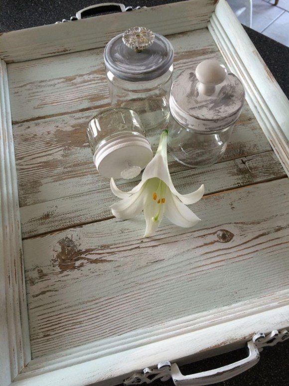 Table Tray from Old Picture Frames