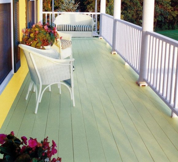 Painted Deck to Match Your Decor