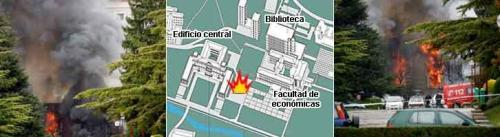 Bomba en la Universidad de Navarra