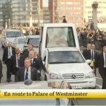 Hacia el palacio de Westminster