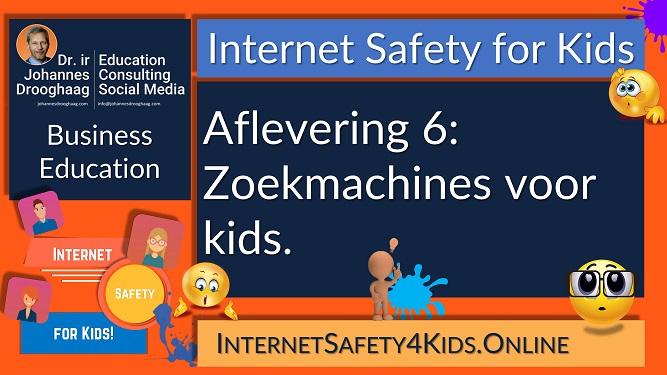Internet Safety for Kids Aflevering 6 - Zoekmachines voor kids